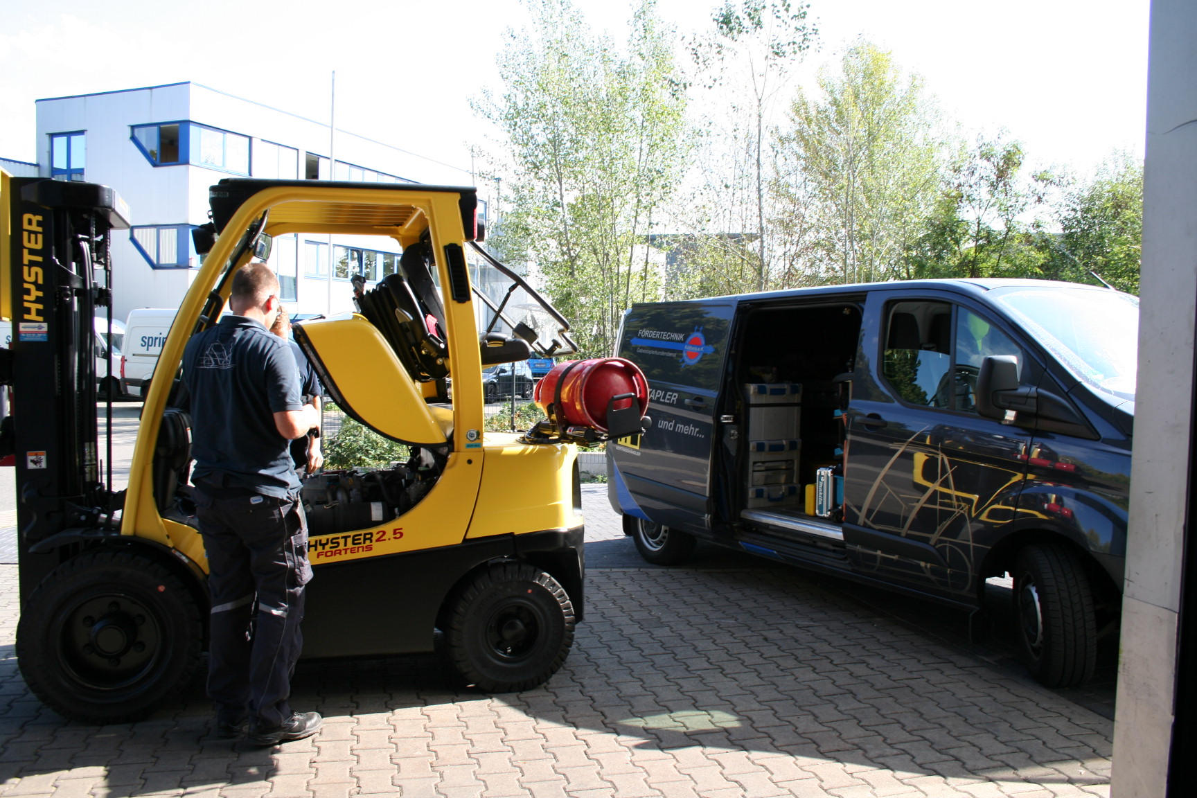 Gabelstapler Service vor Ort